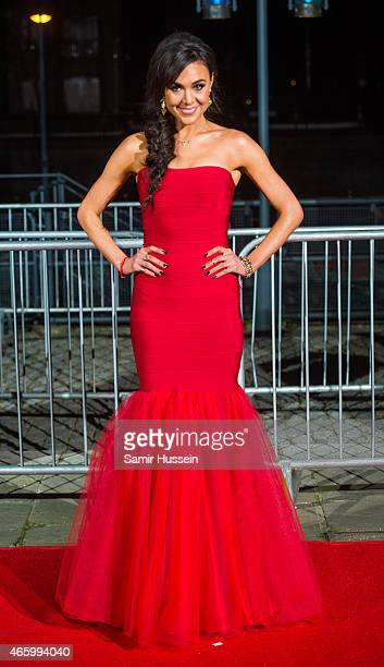 Riva Taylor attends the BAFTA Games Awards at Tobacco Dock on March 12 2015 in London England