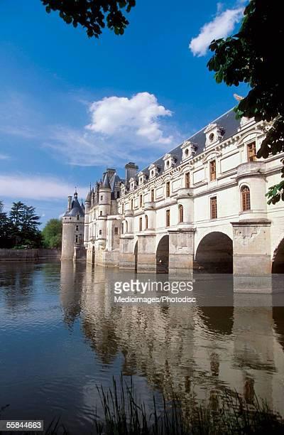River along Chateau de Chenonceaux, Chenoneaux, France