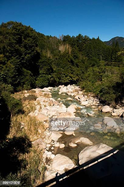 River along Nakasendo Highway outside Tsumago