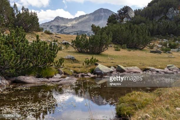 mountain river banderishki chukar peak at