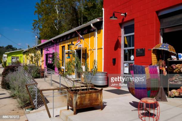 river arts district, asheville, nc - asheville stock pictures, royalty-free photos & images