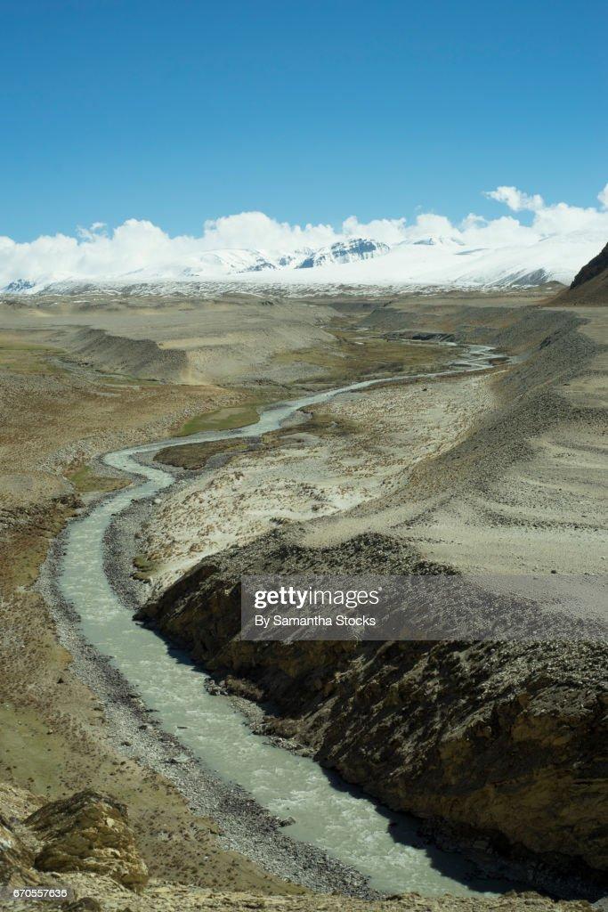 River at Sagarmatha National park : Stock Photo