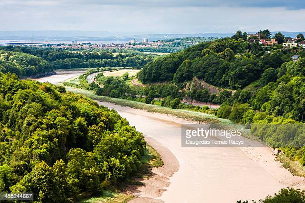 river avon in bristol - avonmouth stock photos and pictures