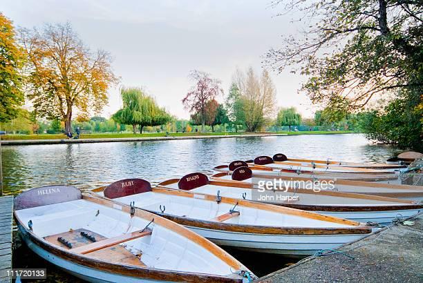 River boats, Stratford upon avon, England.