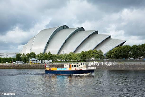 río clyde transbordador, glasgow - theasis fotografías e imágenes de stock