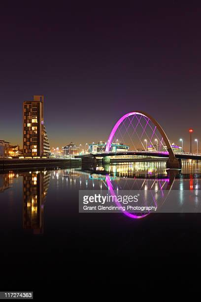 River clyde reflection