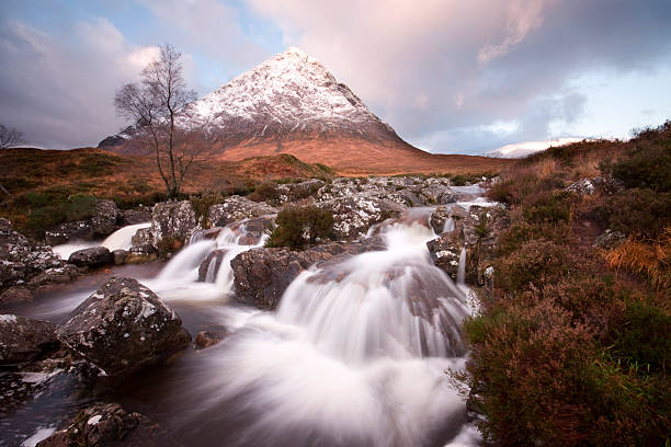 River Coupal And Buachaille Etive Mor. (XL Image Size) Wall Art