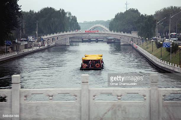 river cruise in beijing - omar shamsuddin stock pictures, royalty-free photos & images