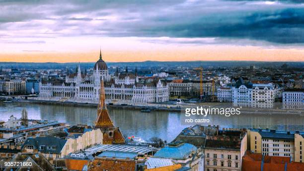 River Danube from Fisherman's Bastion, Budapest