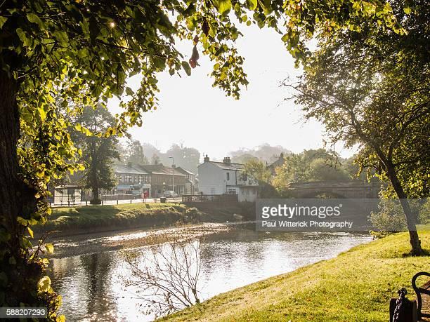 river eden bridge, appleby in westmorland - appleby foto e immagini stock