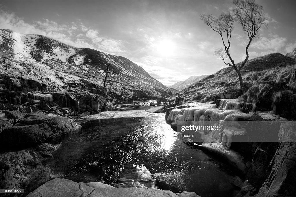 Fluss Etive : Stock-Foto