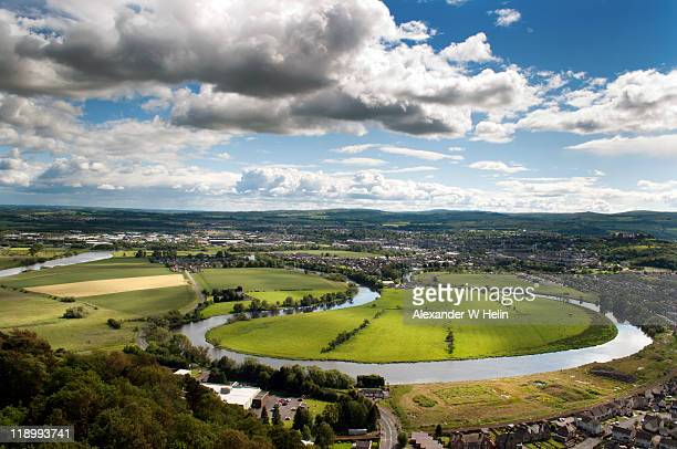 river forth - stirling stock pictures, royalty-free photos & images