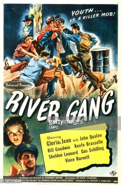 River Gang poster US poster bottom left from top Gloria Jean Sheldon Leonard 1945