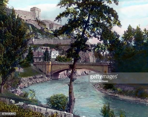 River Gravel through the city of Lourdes