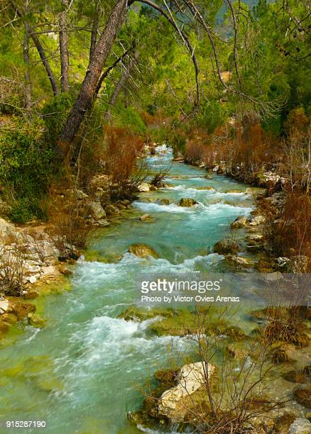 River Guadalquivir in the natural park of Cazorla, Jaen, Andalusia, Spain