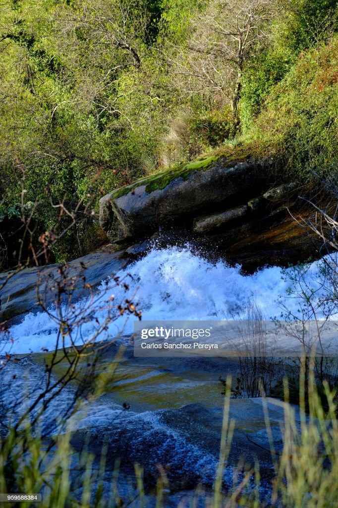 river in Jerte Valley : Stock-Foto
