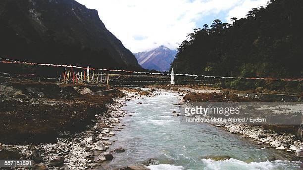 River In Mountain Valley