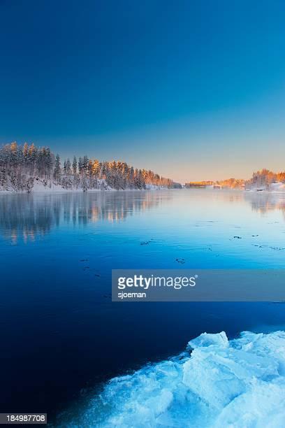 River in Scandinavia