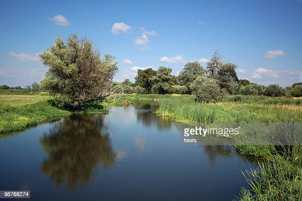 river landscape on Havel (Brandenburg)