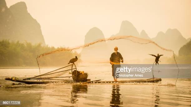 River Lee Cormorant Fisherman