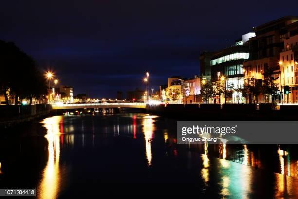 river lee in cork - コークシティ ストックフォトと画像