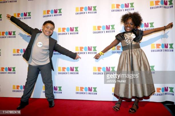 River Mason and Riley Gabriel King attend the Bronx Children's Museum Third Annual Gala and Benefit Honoring Rita Moreno at Gotham Hall on May 07...