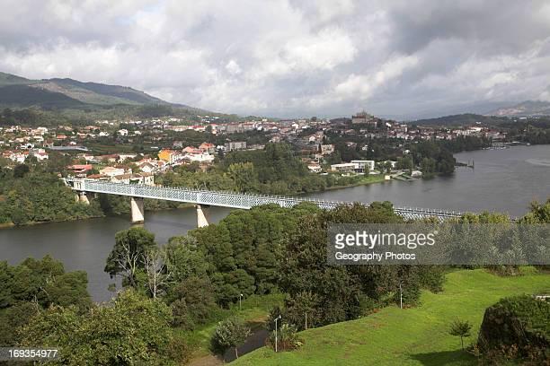 River Minho Tui Spain from Valenca do Minho Portugal
