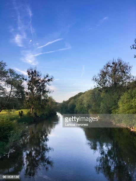 River Neckar near Tübingen, Germany