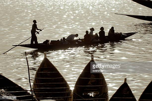 River Niger Silhouettes