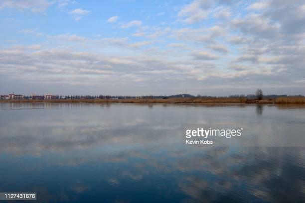 River Oder in Frankfurt (Oder), Brandenburg, Germany.