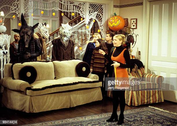 WITCH A River of Candy Corn Season Two 10/31/97 Sabrina's Halloween extravaganza takes a turn for the disastrous when a river of candy corn fills the...