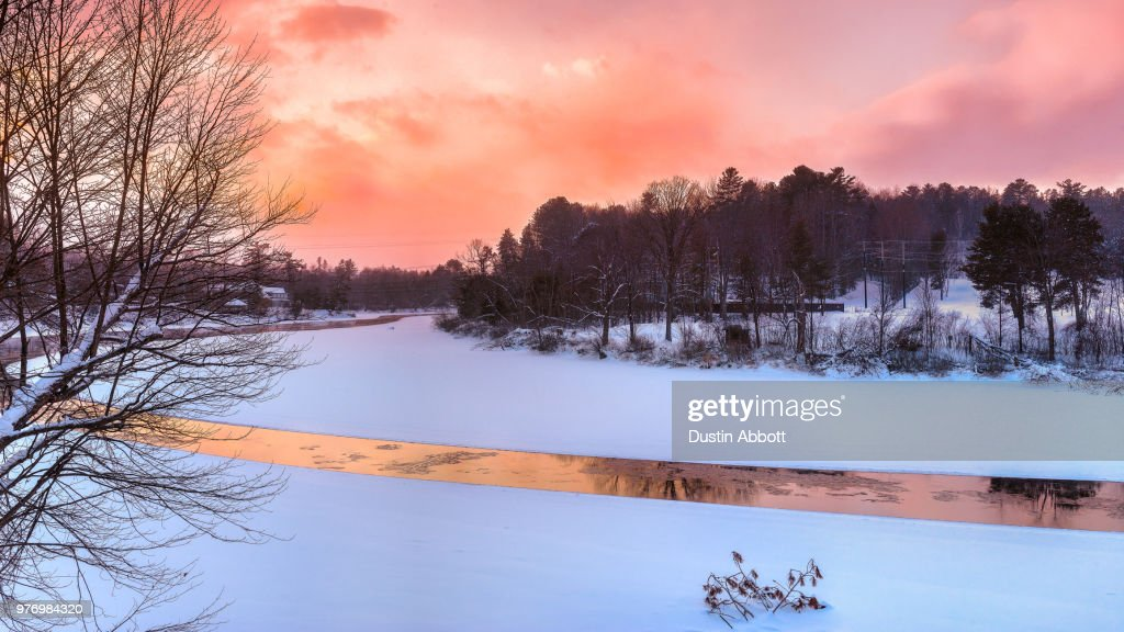 River of Gold : Stock Photo