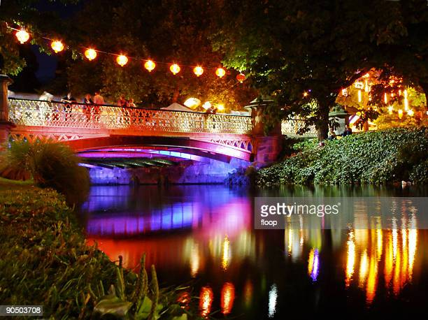 river of lights - christchurch stock pictures, royalty-free photos & images