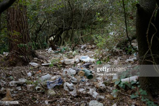 single-use plastics, the garbage culture - water pollution stock pictures, royalty-free photos & images