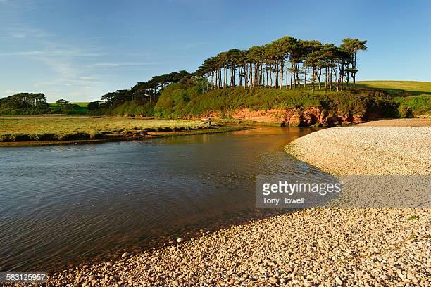 River Otter,Budleigh Salterton