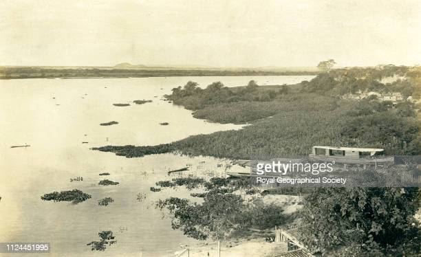 River Paraguay near Corumba Brazil 1908 Artist Percy Harrison Fawcett