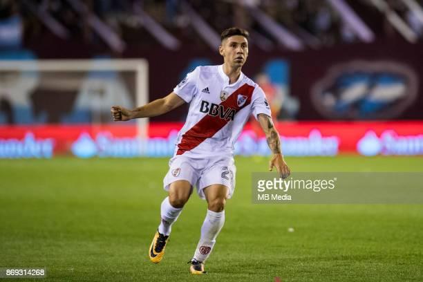 OCTOBER 31 River Plate Gonzalo Montiel during the Copa Libertadores semi finals 2nd leg match between Lanus and River Plate at Estadio Ciudad de...