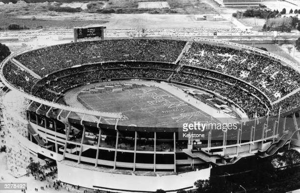 River Plate Stadium in Buenos Aires in Argentina where the World Cup Final was held in 1978.