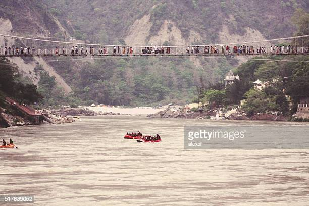 River rafting in Rishikesh city, India