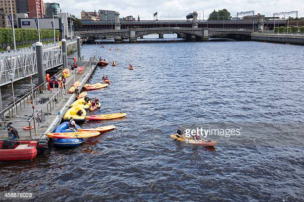 river rat race, glasgow - theasis stock pictures, royalty-free photos & images