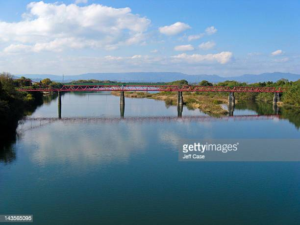 River reflecting pool