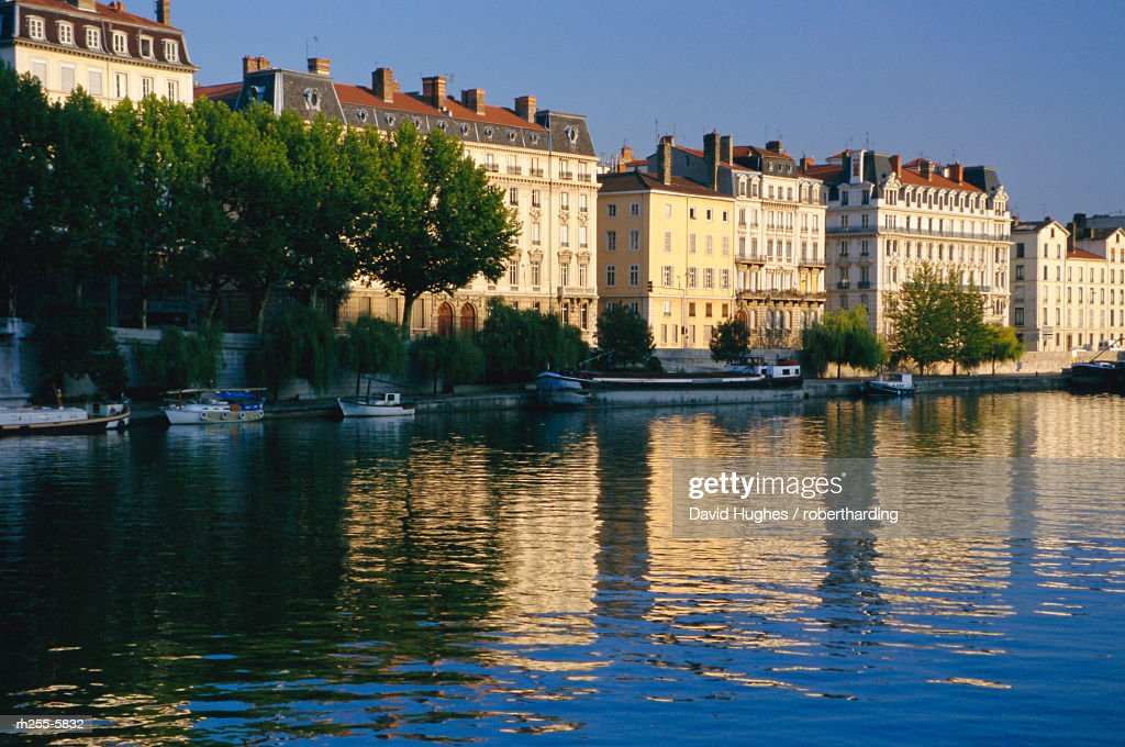 River Saone, Lyon, Rhone valley, France, Europe : Stockfoto