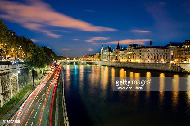 River Seine with Palais de Justice in background