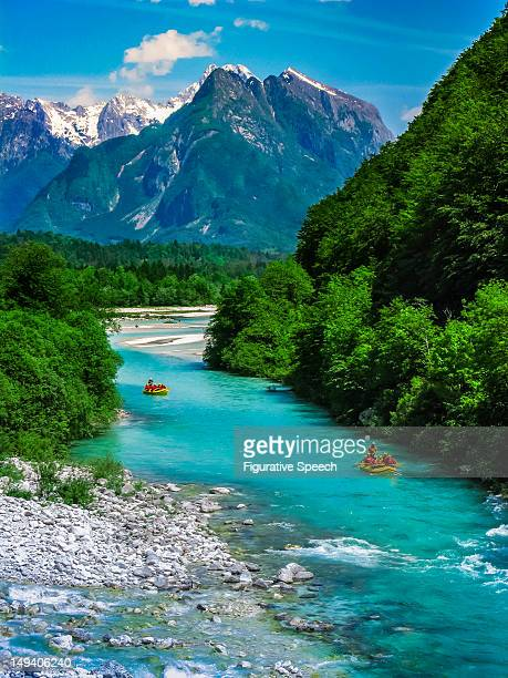 river soca - slovenia stock pictures, royalty-free photos & images
