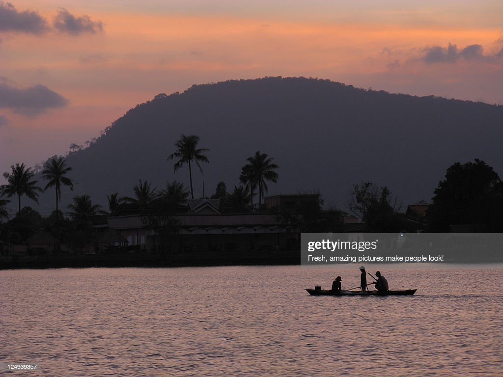 River Sunset In Tropical Dream Land Stock Photo Getty Images