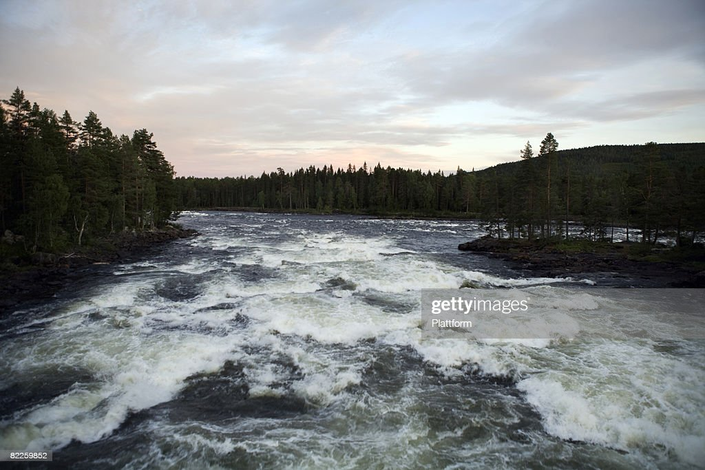 A river Sweden. : Stock Photo