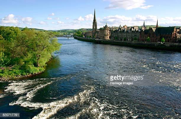 River Tay and Perth Scotland