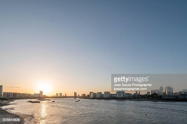 River Thames, London.