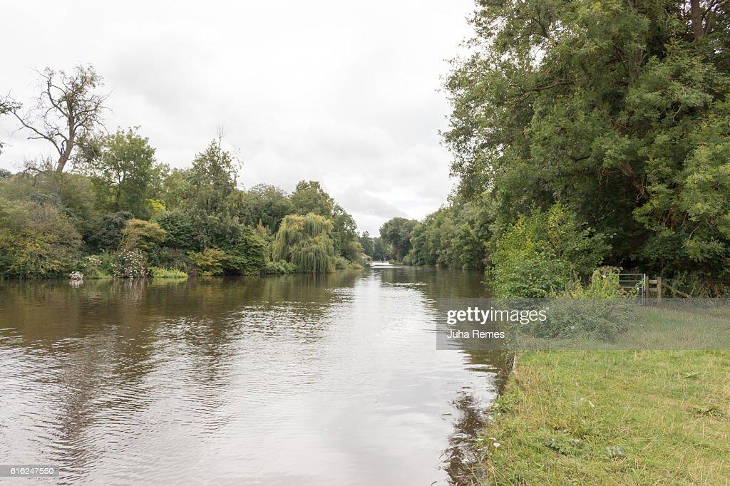 River Thames : Stock Photo