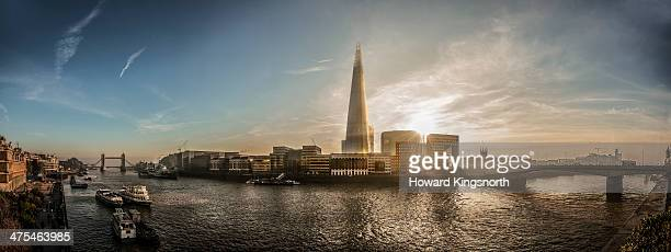 River Thames, The Shard panorama
